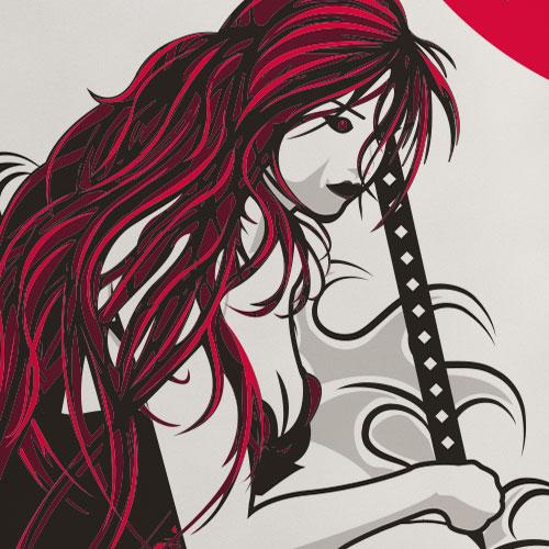 Samourai Girl